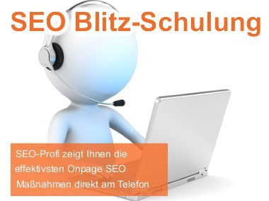 Onpage SEO Blitz-Schulung
